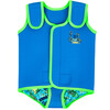 Zoggs Deep Sea Baby Wrap Blu China/Green